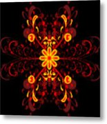 Continental Abstract Metal Print