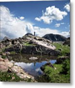 Continental Divide Above Twin Lakes 2 - Weminuche Wilderness Metal Print