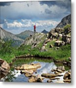 Continental Divide Above Twin Lakes 4 - Weminuche Wilderness Metal Print