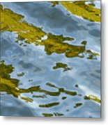Continental Drift Metal Print