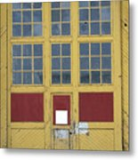 Contrasts With Accents Metal Print