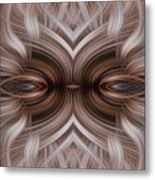 Controled Confusion Metal Print