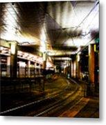 Convention Center Station Metal Print