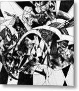 Conversation 10 Metal Print