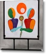 Conversations With Picasso Metal Print