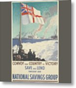Convoy Your Country To Victory Metal Print