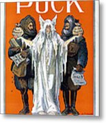 Cook And Peary, 1909 Metal Print