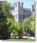 Cook Hall Illinois State Univerisity Metal Print