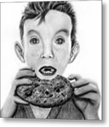 Cookie Surprise  Metal Print