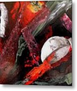 Cooking Gazpacho Metal Print