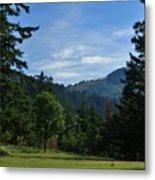 View Of Underwood Mountain Metal Print
