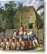 Cook:sandwich Islands 1779 Metal Print