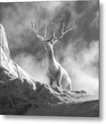 Cool Deer 2 Metal Print