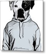 Cool Dog Metal Print
