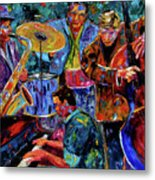 Cool Jazz Metal Print