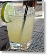 Cool Margarita Metal Print