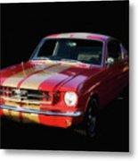 Cool Mustang Metal Print
