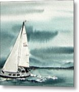 Cool Sail Metal Print