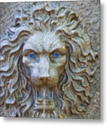 Cool Sip Of Water Metal Print
