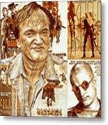 Cool Tarantino Poster Metal Print