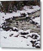 Cool Winding River Metal Print
