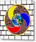 Coolearth Metal Print