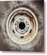 Cooper Discoverer Radial Lt Tire Metal Print