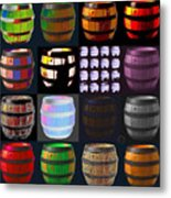 Cooperage 3 Metal Print by Eikoni Images