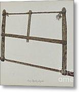 Coopersmith Saw Metal Print
