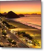 Copacabana Metal Print