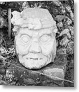Copan Ruins Artifacts IIi Metal Print