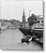 Copenhagen Canal 1 Metal Print
