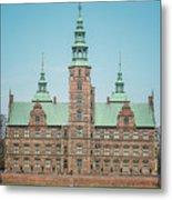 Copenhagen Rosenborg Castle Back Facade Metal Print