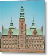 Copenhagen Rosenborg Castle Facade Metal Print