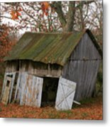 Copening Hill Shed Metal Print