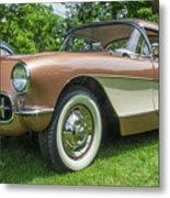 Copper 1967 Corvette  Metal Print