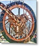 Copper Bike Liberty Ambassador Ny  Metal Print