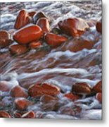 Copper Country Beach Metal Print