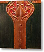 Copper Doors  Metal Print