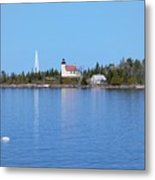 Copper Harbor Lighthouse Metal Print