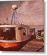 Copper Harbor Waterfront Metal Print