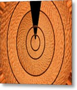 Copper Panel Abstract Metal Print