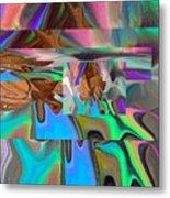 Copper Prism Metal Print