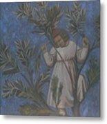 Copy Of Giotto's Frescoes Metal Print