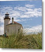 Coquille Lighthouse H Metal Print