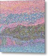 Coral Blues  Metal Print