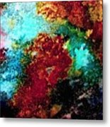 Coral Reef Impression 15 Metal Print