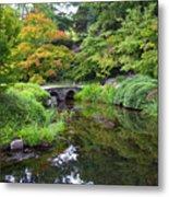 Corbel Arch Bridge Japanese Garden Maymont I Metal Print
