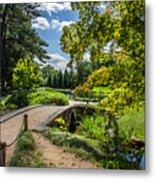 Corbel Arch Bridge Japanese Garden Maymont Metal Print