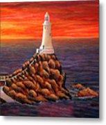Corbiere Lighthouse - Jersey Metal Print
